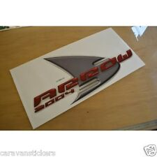 AVONDALE Arrow Caravan Side Sticker Decal Graphic - SINGLE