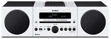 Yamaha MCR-B043D 30W Micro Hi-Fi System - White
