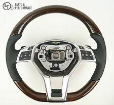 LE TEF® Wurzelnuss Holz Lenkrad für Mercedes-Benz AMG W212 R172 R231 W176 C197