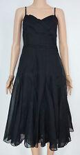 Monsoon Size 8 Black Party Evening Dress