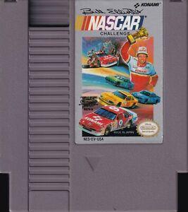 BILL ELLIOTT'S NASCAR CHALLENGE (1991) nes nintendo konami us NTSC USA IMPORT
