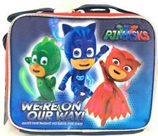 Disney PJ Masks Lunch Bag Cooler Catboy Owlette Gekko Toy Carrying Case as Is