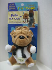 """Bully"" Bulldog Fun Friends Plush Flip-style Cell Phone Cover NEW"