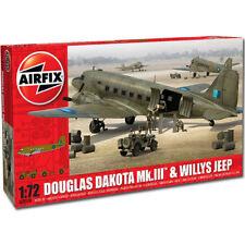AIRFIX a09008 DOUGLAS C-47 DAKOTA militaire + charge 1/72 ème 04899 Revell avion modèle kit