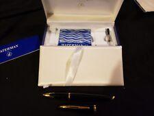 Waterman carene fountain pen18k Gold Med Nib