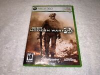 Call of Duty: Modern Warfare 2 (Xbox 360, 2009) Game Complete Excellent