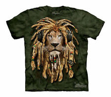 The Mountain Jahman Lion Rasta Music King Of Jungle Child / Youth Shirt L