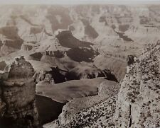 Vintage 1910s Photo Grand Canyon by Carl Moon of El Tovar Studios (Stamped)