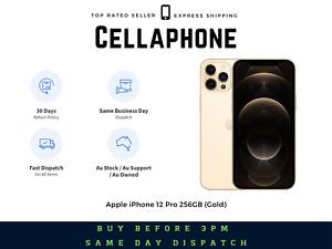 ~~Brand New~~ Apple iPhone 12 Pro 256GB (Gold) - Au Stock - GST Invoice