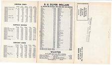 Trifold Fold Out PC Oliver James Coin Deal in San Francisco, California~104898