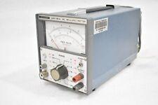Leader Lmv 181a Ac Millivoltmeter Test Equipment