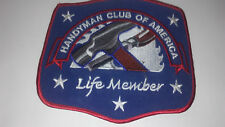 Handyman Club of America Patch- Life Member, New