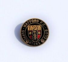 WATFORD FOOTBALL SUPPORTERS CLUB PIN BADGE