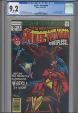 Spider-Woman #6 CGC 9.2 1978 Marvel Comics Werewolf by Night & Morgan Le Fay App