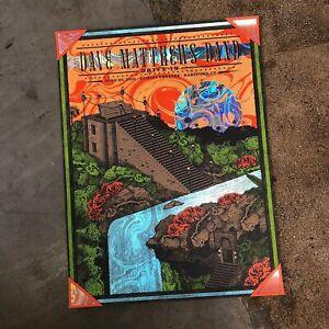 Dave Matthews Band Poster Drive In Series Hartford Swirl Foil Helton 6/22/19