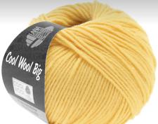 Lana Grossa-Cool Wool Big-Fb 928 gris moyen 50 g Laine Créatif