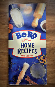 Vintage Be-Ro Flour Home recipes. 40th ed. slight wear to front cover.