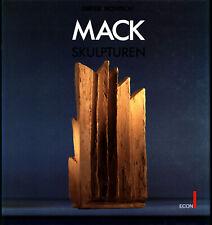 Heinz Mack: Skulpturen. 1953-1986. Werkverzeichnis. Signiertes Exemplar.