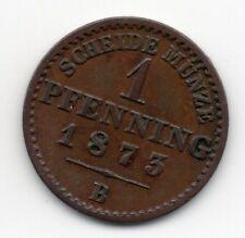 Germany - Preussen / Prussia - 1 Pfennig 1873 B