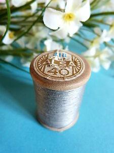 154B / Beautiful Coil Old Of DMC Thread Cotton Alsa N° 40 Grey N° 318