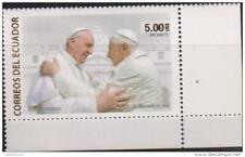 O) 2013 ECUADOR, POPE FRANCISCO - POPE BENEDICTO XVI, BASILICA OF SAINT PETER, A