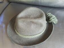 Dunkelgrüner MAYSER Trachtenhut Größe 59 mit Hutschachtel