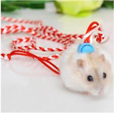 Random Color Rope Rat Mouse Harness Rope Ferret Hamster Collar Leash Lead Strip