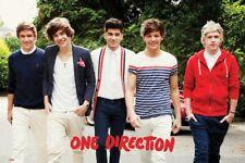 One Direction Walking Maxi Poster 61x91.5cm LP1590 HARRY LOUIS LIAM NIALL ZAYN