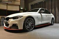 BMW F30 F31 M Side skirts Performance extension sideskirt 2 pcs SIDE BAR Sport