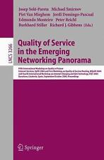 Quality of Service in the Emerging Networking Panorama: 5th Internatio-ExLibrary