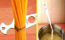 Probador Medidor & espagueti Medida porciones Pasta Acero Utensilio Cocina Cocinar