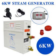 6KW Dampf Generator Dusche Sauna Bad Haus Badekurort-Multifunktions SPA Bath