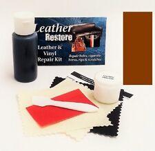 Air Dry Leather & Vinyl Repair Kit  BROWN Color Repair Recolor & Restore