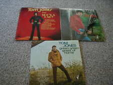 LOT OF 3 Tom Jones Is Not Unusual Parrot LP, She's a Lady, Green Green Grass