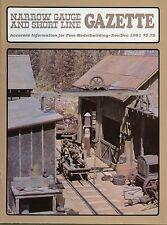 Narrow Gauge and Short Line Gazette Magazine November/December 1981 Vol 7 No 5