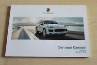 183225) Porsche Cayenne - Modell in Daten - Prospekt 11/2014