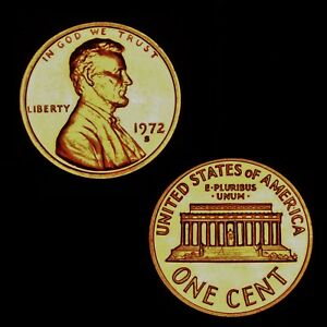 1972-S Proof Lincoln Cent Nice Coins Priced Right Shipped FREE