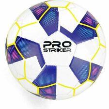 More details for pro striker size 5 football soccer ball blue b317