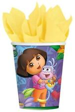 Dora's Flower Adventure 9oz Paper Beverage Cups Birthday Party Supplies New 8 ct