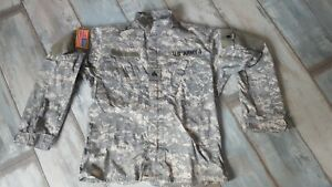 US ARMY Uniform ACU Field Jacket/ Hemd Small Xtra Long Digital Flammenresistent