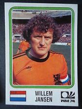 Panini 83 Willem Jansen Niederlande WM 74 World Cup Story