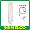 LAMPARA BOMBILLA BAJO CONSUMO 26W PLC 2 TUBOS G24D/3 LUZ DIA 6400K 165MM BD4102