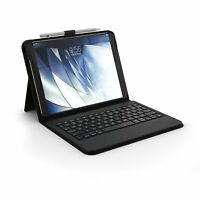 Zagg Keyboard Messenger Fabric Folio With Kickstand For iPad Pro 10.5 Inch Black