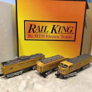 RAIL KING GAS TURBINE SET 3RAIL 30-2009LP IN BOX