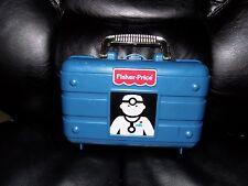 Vintage Fisher Price Doctor Dr Nurse Medical Kit Bag  Pretend Toy Case