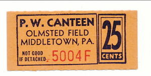 USA WWII POW Camp Chit PA-18-1-25b Olmstead Field PA 25 Cent Prisoner of War