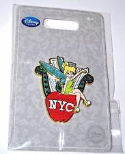 RARE Disney Pin✿Tink Tinker Bell LOVE NYC New York City Sits Big Apple Skyline