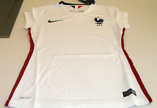 5303bd699 FIFA France 2015 Women s World Cup Soccer Away Ladies Jersey SS Large White