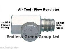 AIR TOOL FLOW CONTROL REGULATOR -  air flow from line to tool 1/4 BSP       038