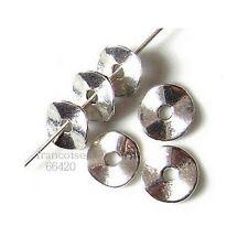 100 Intercalaires spacer caps diamètre 9mm Perles apprêts création bijoux _ A240